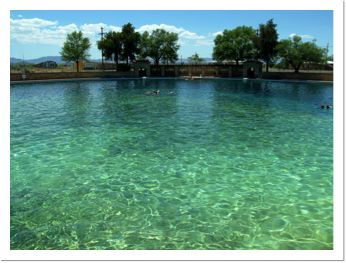 San Solomon Springs ... Gorgeous ! In WEST Texas! Tons of things to do also..you even get mountains in the background. I may live in the same state, but I'm not driving there!!!