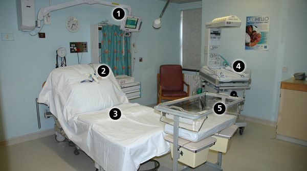 All The Delivery Rooms At The Alexandra Hospital Are