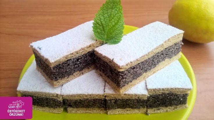 Gluténmentes paleo mákos süti (szénhidrátszegény, tejmentes, szójamentes, cukormentes)