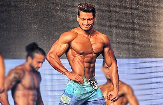 Manoj Patil Pose Mr India 2016 - Indian Bodybuilding