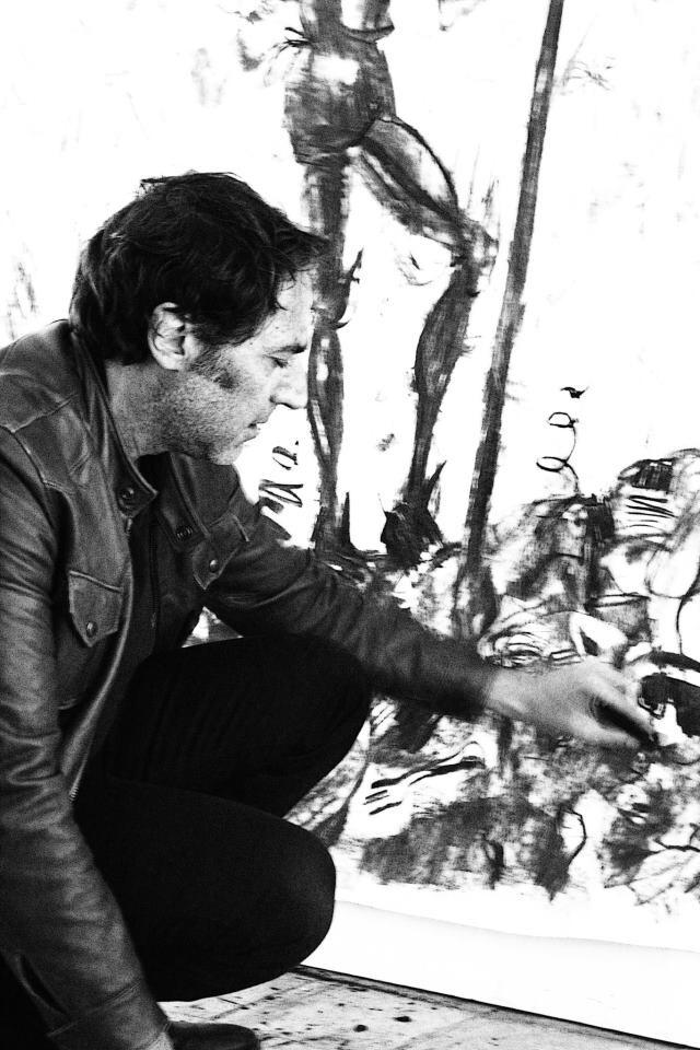 Artista all'opera per #invasionedigitali #siciliainvasa #laculturasiamonoi#vocioutallosteri #museiunipa #igerspalermo