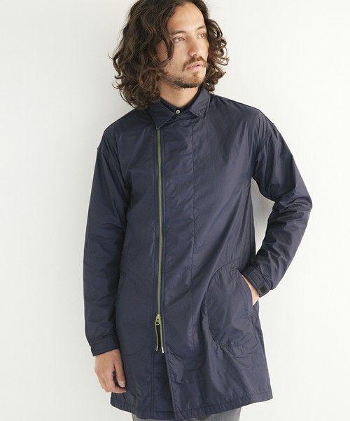 ジップタイプもおしゃれ。秋冬のファッション アイテム メンズショップコート コーデを集めました。