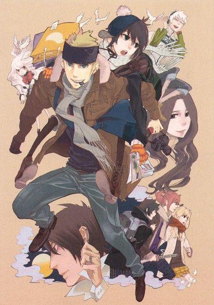 Yuhki Kamatani, manga Nabari no Ou. I absolutely love her artwork (as well as storytelling-skills)