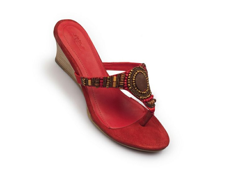 Gold Sandals form HItz Ladies Chappal By Hitz - Attractive color, Party wear of High heel. Check here for online shopping