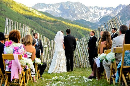 wedding ceremony arch - birch bark: Aspen Trees, Wedding Altars, Wedding Ideas, Wedding Stuff, Projects Wedding, Posts Wedding, Colorado Mountain, Great Tips, Mountain Wedding