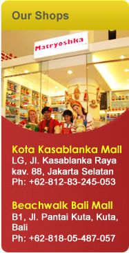 Our Shops in Indonesia
