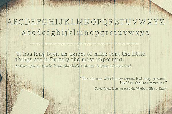Twenty-Four Hours 'Til Dawn - Serif