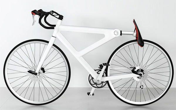 Dit Saddle Lock fietsslot werkt vrij simpel; je zadel dient als cijferslot zodra deze achterover geklapt wordt. Zo verlies je het slot ook nooit meer.