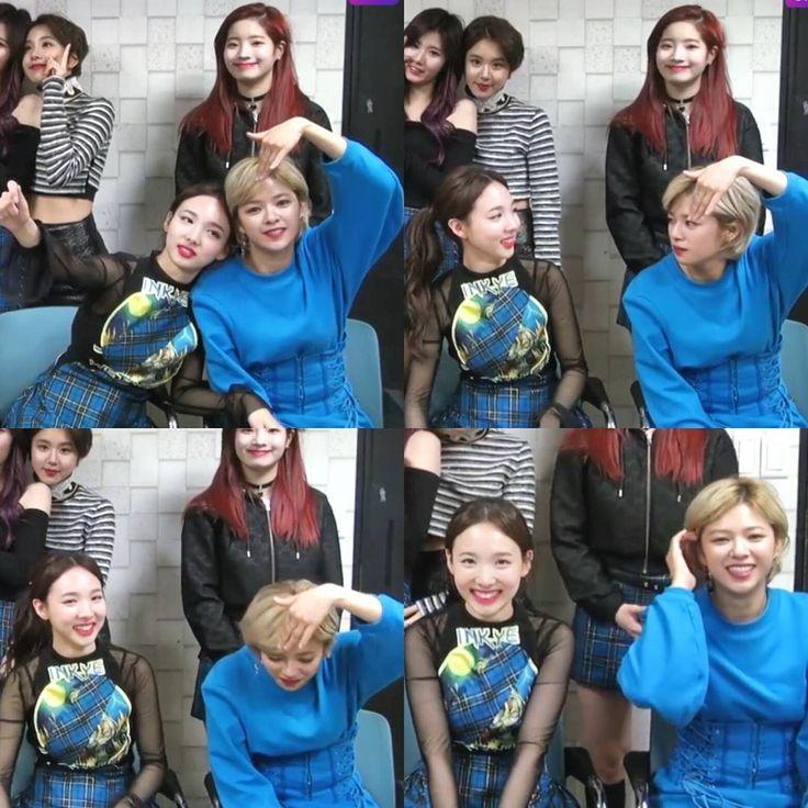 LMAO! it's okay jeong . . . . #yoojeongyeon #2yeon #najeong #jeongyeon #imnayeon #nayeon #twice #twicetagram #kpop #otp #kpopcouple #girlcrush #myouimina #mina #minayeon #jeongmi #트와이스 #임나연 #미나 #유정연 #jihyo #momo #sana #mina #dahyun #chaeyoung #tzuyu