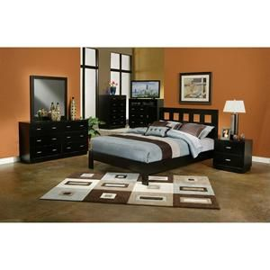 manhattan 6piece king bedroom set in dark espresso nebraska furniture mart