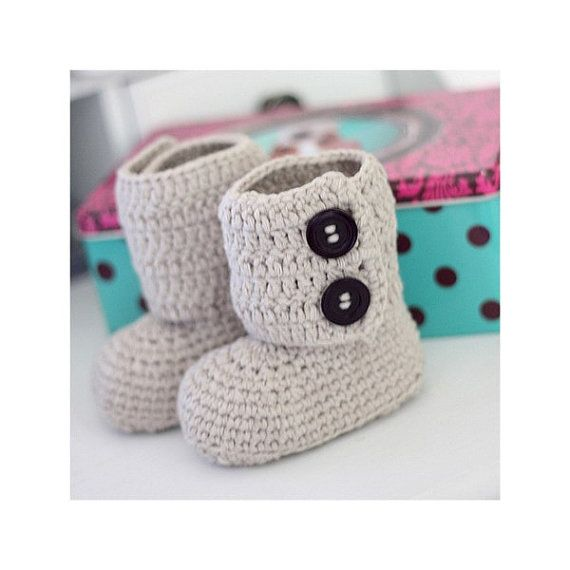10 best Crochet images on Pinterest   Crochet baby, Baby shoes and ...