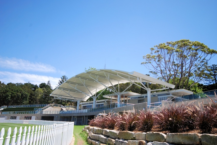Ritek Custom Curved Roof System Waverley Pavillion, NSW