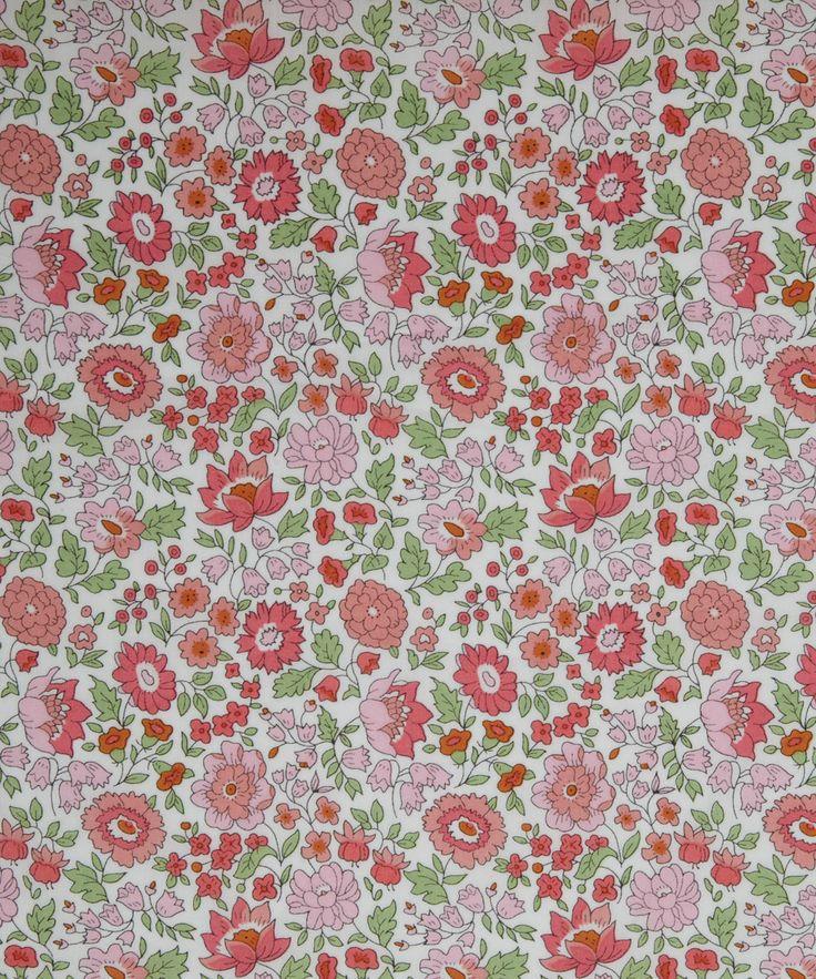 NEW SEASON! Liberty Art Fabric D'Anjo C Tana Lawn | Classic Tana Lawn by Liberty Art Fabrics | Liberty.co.uk