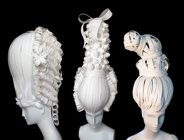 Nikki Salk and Amy Flurry's dramatic creations explore the intersection of paper craft and high fashion.