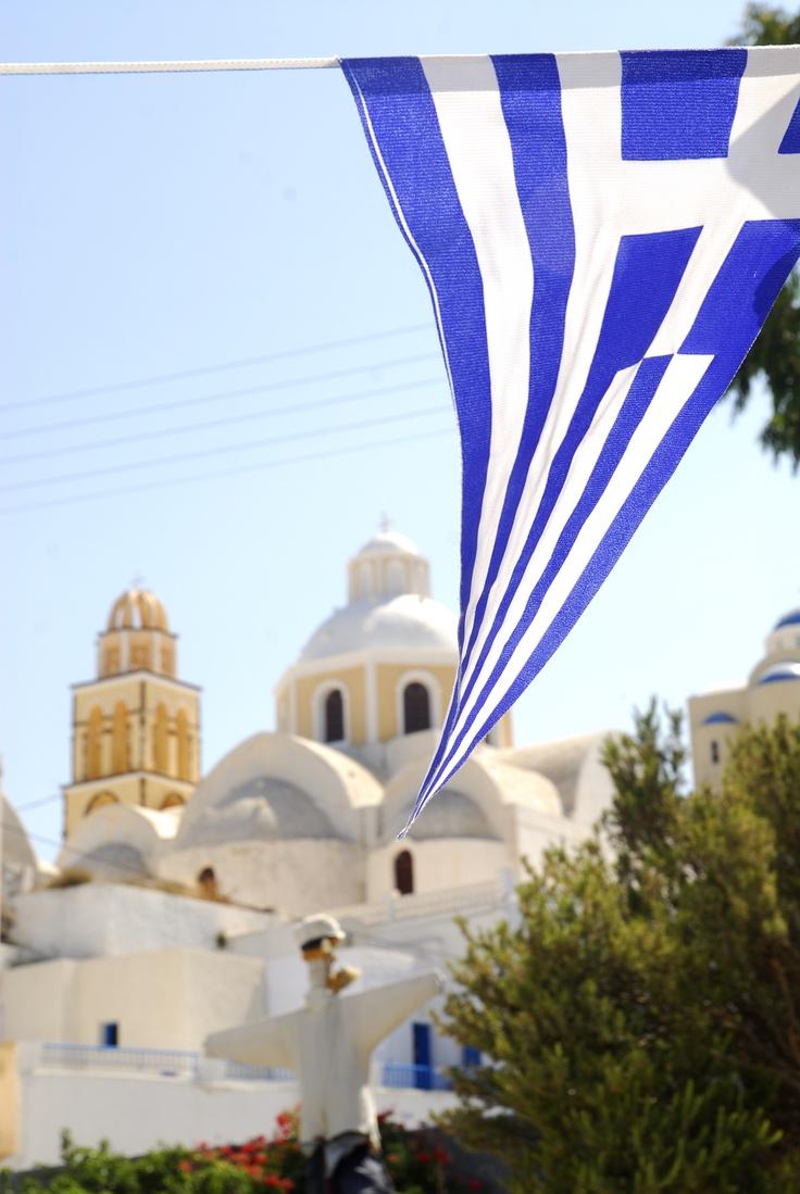 Santorini, Greece  http://www.vacationsmadeeasy.com/