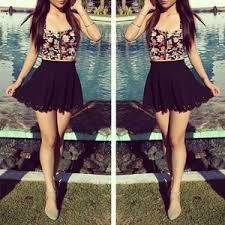 Image result for cute black party dresses tumblr | Black L over ...