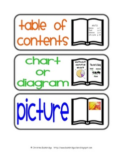 Non-fiction Text Features Freebie!
