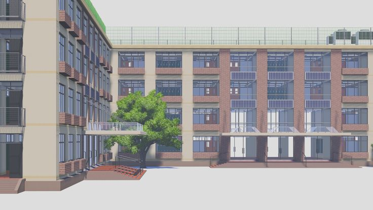 Manga School Building Drawings - Bing Images