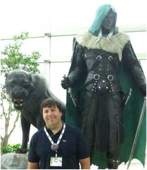 Bob Salvatore - good writer, great human being. Here he talks about writing an action sequence.