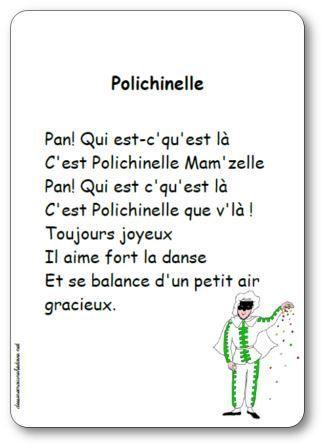 Chanson Polichinelle