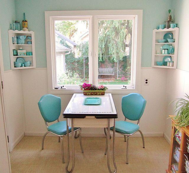 primitive kitchen decorating ideas creating primitive kitchen decor kitchen in retro blues absolutely darling - Turquoise Kitchen Decor