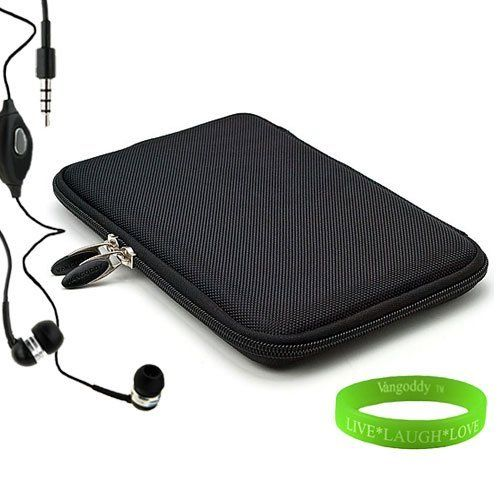 Barnes & Noble Nook Tablet Accessories Kit, Bundle Includes: Perfect Fit Black Hard Case + Compatible NookTablet Earbud Earphones with Microphone + Vangoddy Live * Laugh * Love Wrist Band!!! by VG. $17.35. Nook Tablet Snug Fit HD Tablet Cube. Material is high quality hard Ethylene Vinyl Acetate (EVA) wrapped in double woven NYLON for extra protection not only from damage but also from dirt to keep the case looking new at all times. Case perfectly fits the nook tab...
