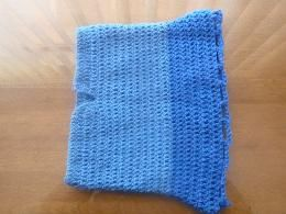 blue crochet skirt $10.00