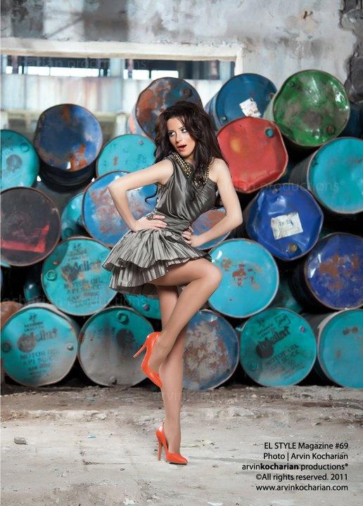 She's a famous Armenian model