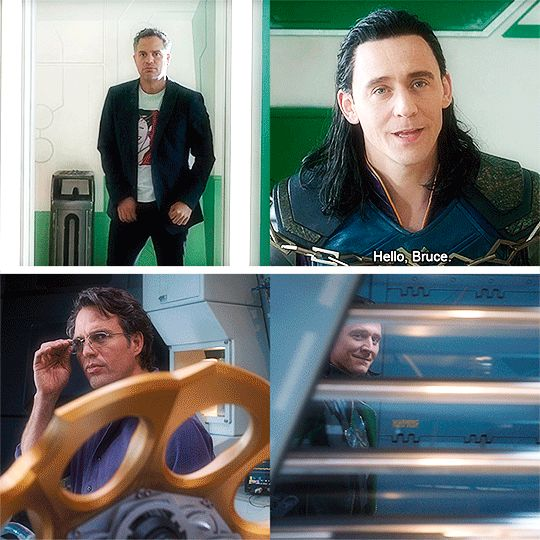 """Hello, Bruce."" I really liked Loki's response here. It was the REAL Loki showing! He looked and sounded like himself!"