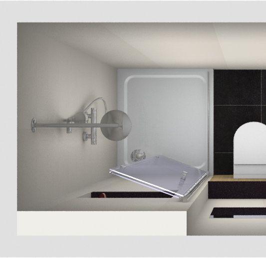 25 beste idee n over kleine badkamers op pinterest kleine badkamer badkamers en kleine - Kleine badkamer in lengte ...