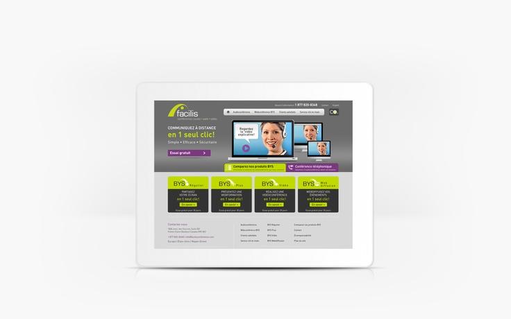 Facilis | www.facilisconference.com | Site Web | Team Marketing • Web • Design