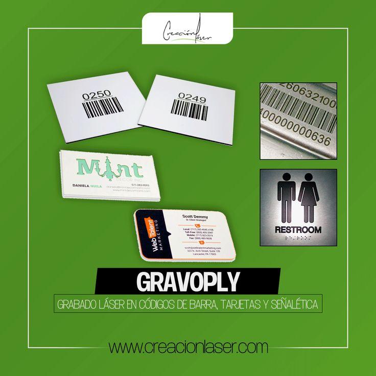 Grabado Láser en Gravoply | Tarjetas | Tarjetas de Presentación | Códigos de Barra | Maquinaria | Códigos | Señalética | Durabilidad | Resistencia | Grabado | Grabado Láser | Laser Engraved | Engraving | Engravings | Engraved | Personalizado | Branding | Monterrey | México | Nuevo León | Negocios | Empresas