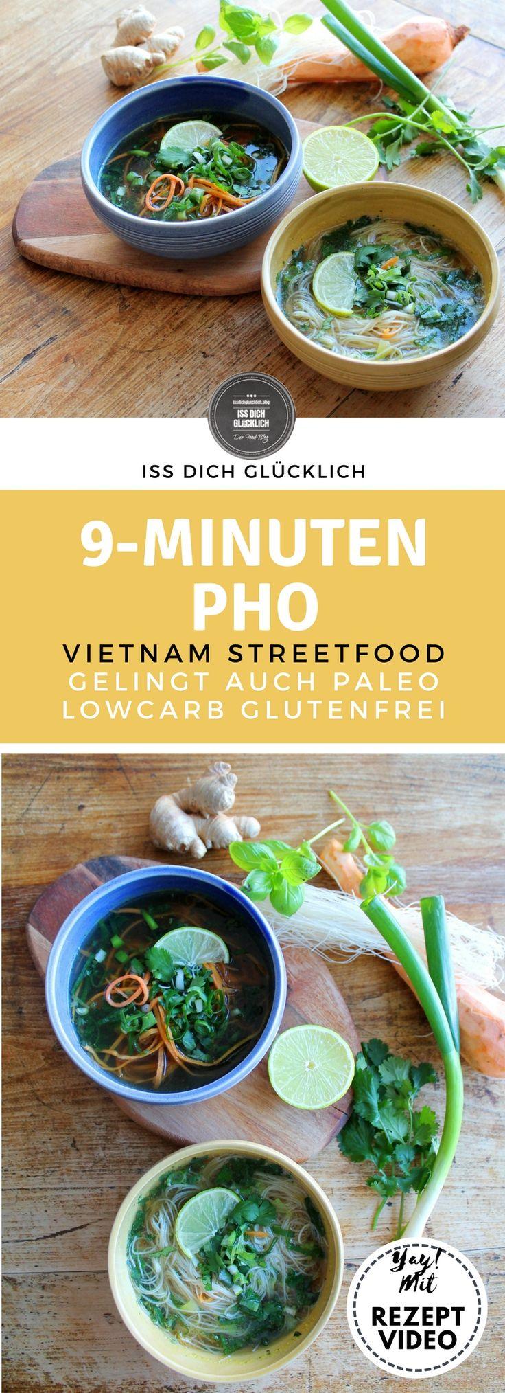 Vietnamesische Pho in 9 Minuten – ein Frühlings-Geschmacksfeuerwerk!