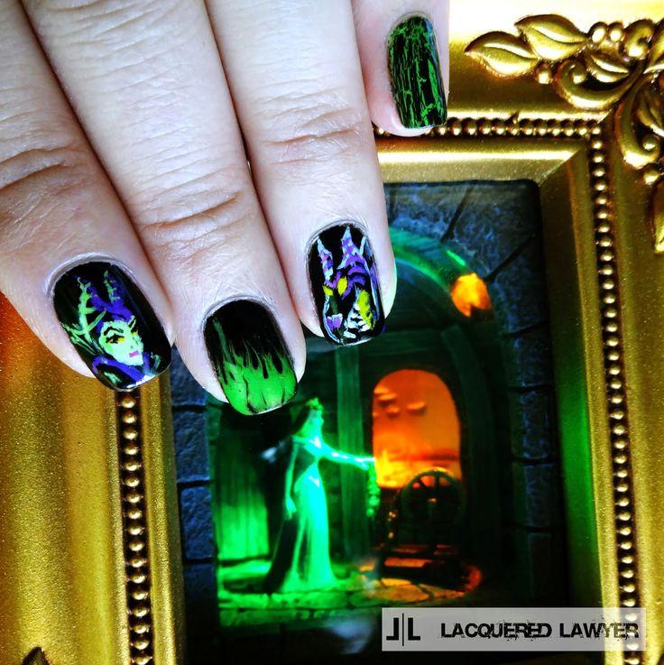 Mejores 52 imágenes de Disney Nail Art en Pinterest | Arte de uñas ...