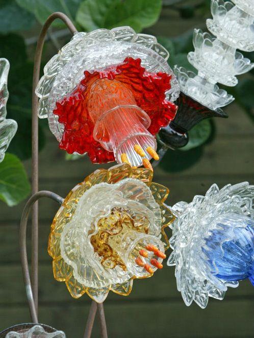 …………….. Glass Flowers