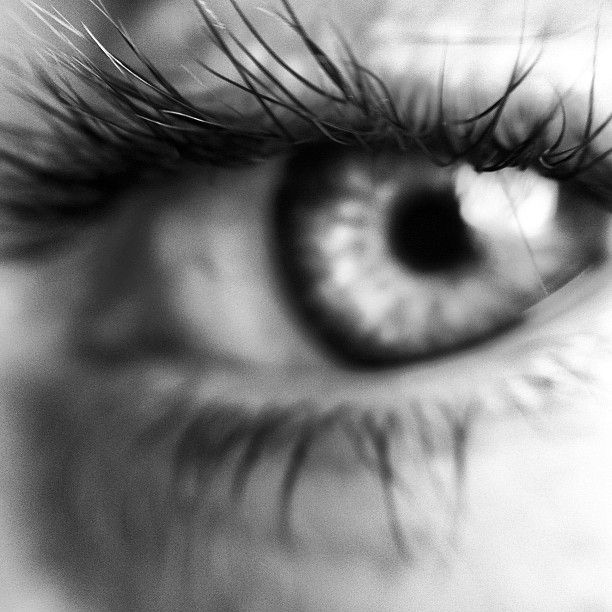 Tom's beautiful eye.   InstagramShot by Leinstyle.com