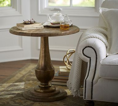 Best House Ideas Images On Pinterest Offices Home Ideas And - Pottery barn gold coffee table