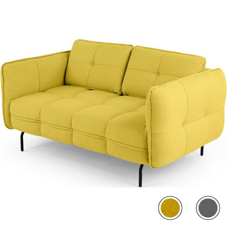 Dreipunkt Designer Leather Sofa Mustard Yellow Two Seat: Best 25+ 2 Seater Sofa Ideas On Pinterest