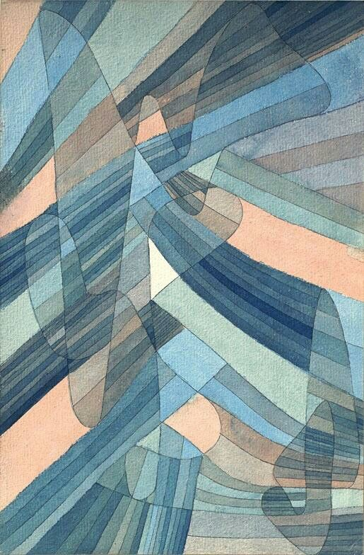 Klee. Rhythm Anni Albers said Klee's use of point and line were very influential to her during her Bauhaus years.