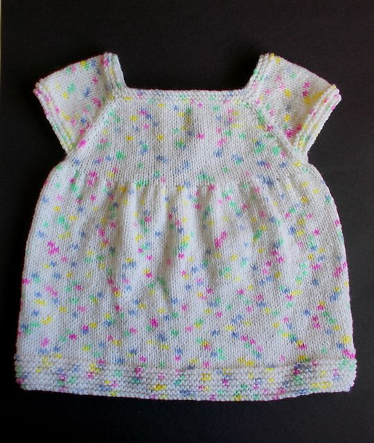 Knitting Pattern Dressing Gown : Best 25+ Knit baby dress ideas on Pinterest Knitting ...
