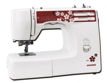 Macchina da cucire Janome 920 Jubilee - Macchina per cucire meccanica con crochet oscillante.