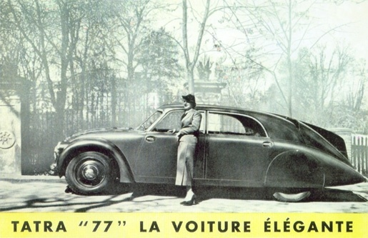 1934 Tatra T77 - made in Czechoslovakia. Dont want one, but I have a friend who owns one.