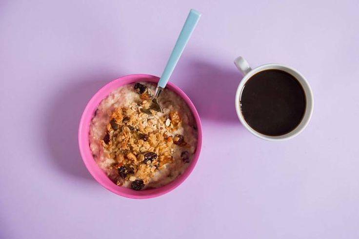 Sunn frokost: Oppskrift på powergrøt av Jonas Lundgren #treningsmat #frokost #sunnfrokost