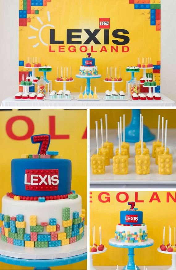 163 Best Baby Shower Lego Theme Ideas Images On Pinterest Baby