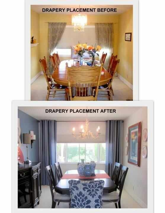 14 Best Images About Hanging Drapes On Pinterest