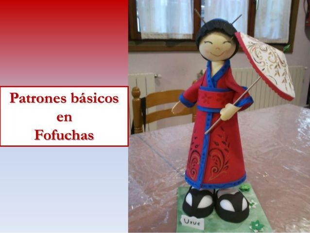 Patrones Básicos en Fofuchas - Consejos by Caridad Yáñez Barrio via slideshare
