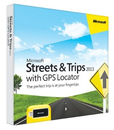 Find adventure on the open road with Microsoft Streets & Trips with GPS Locator. With Americas #1 travel and map software1, explore new places, generate maps and directions, add your own contacts and points of interest, and even get spoken directions - all without an Internet connection.  Price: $44.94