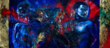 "Saatchi Online Artist MAROS BARAN; Painting, ""The Damoclesian Soul 2011"" #art"