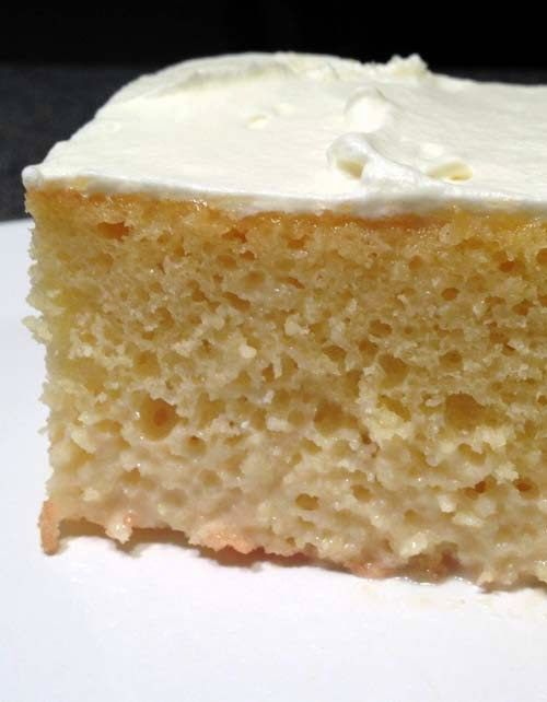 Tres Leches Cake From Scratch Traditional Mexican Treat