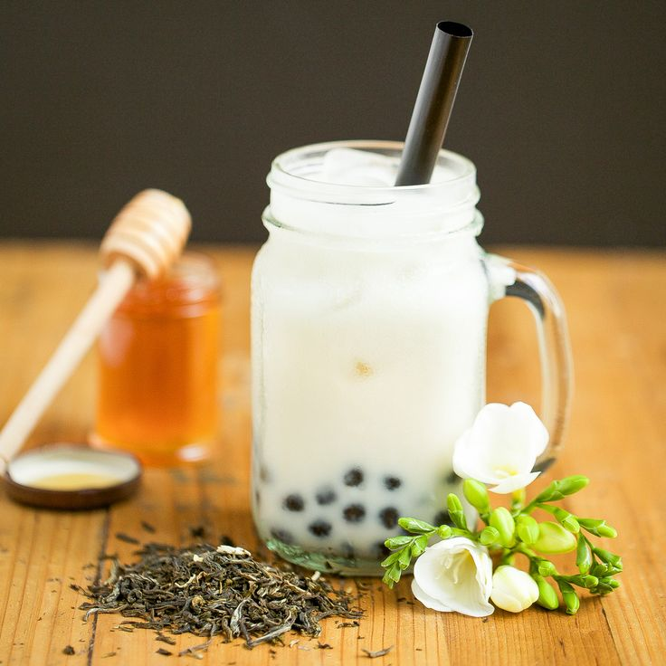So, are you a boba tea lover? While insisting that they love tea, I have a few friends who can't stand boba milk tea. Is it the squishy, chewy texture of those tapioca balls that turn them off? Maybe poor quality tea? Perhaps a bad proportion of tea to milk? Whatever the reason, I'm hoping that this recipe for Jasmine Tea with Honey Boba might turn things around. This recipe comes straight from The Boba Guys themselves. If you don't already know of them, they're a company base...